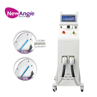 All Skin Types Painless 3 Wavelength Diode Laser Hair Removal Diode Machine