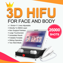 Ultherapy Hifu Machines Professional Factory FU4.5-4S 26000 Shots 12lines with Price