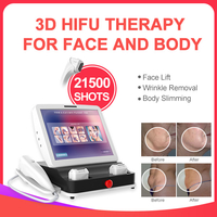 2019 Newest 21500shots 11lines Adjustable Skin Tightening 3D HIFU Machine